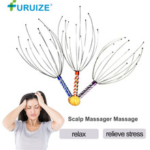 Free shipping Head Massager Octopus Scalp Massager Massage Stress Relax pain relief Claw Massage Health Care Equipment On Sale
