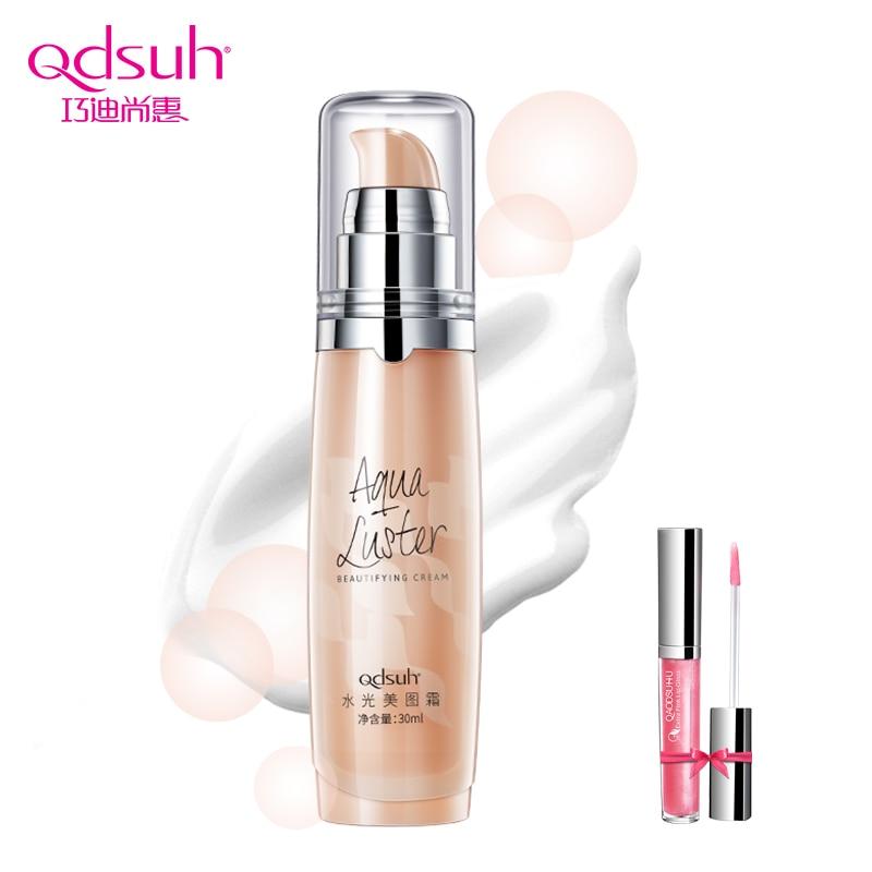Qdsuh Aqua Luster Cremă de înfrumusețare Loțiune pre-machiaj - Machiaj