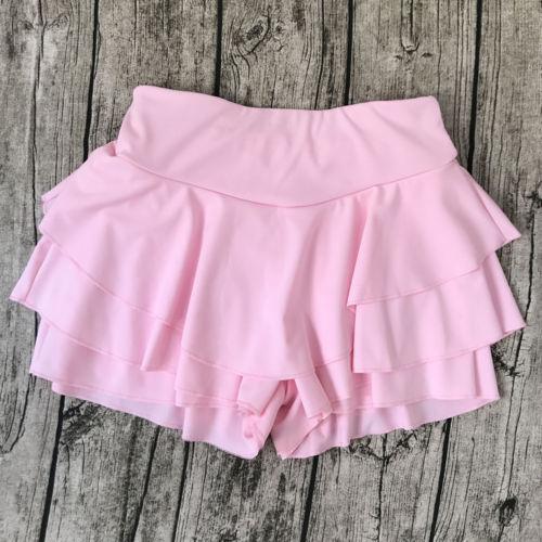 Fashion Summer Women Cocktail Casual Skater Mini   Shorts   Skirt High Waisted   Short   Pants Frill Ruffle Pleated   Short