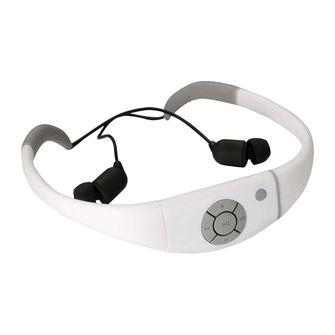 Waterproof Mp3 Headset Music Player 8gb Memory Hi fi Stero Earphone with Fm Radio