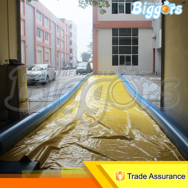 Giant Outdoor Inflatable Water Slide Inflatable Slip And Slide For Amusement 2017 popular inflatable water slide and pool for kids and adults