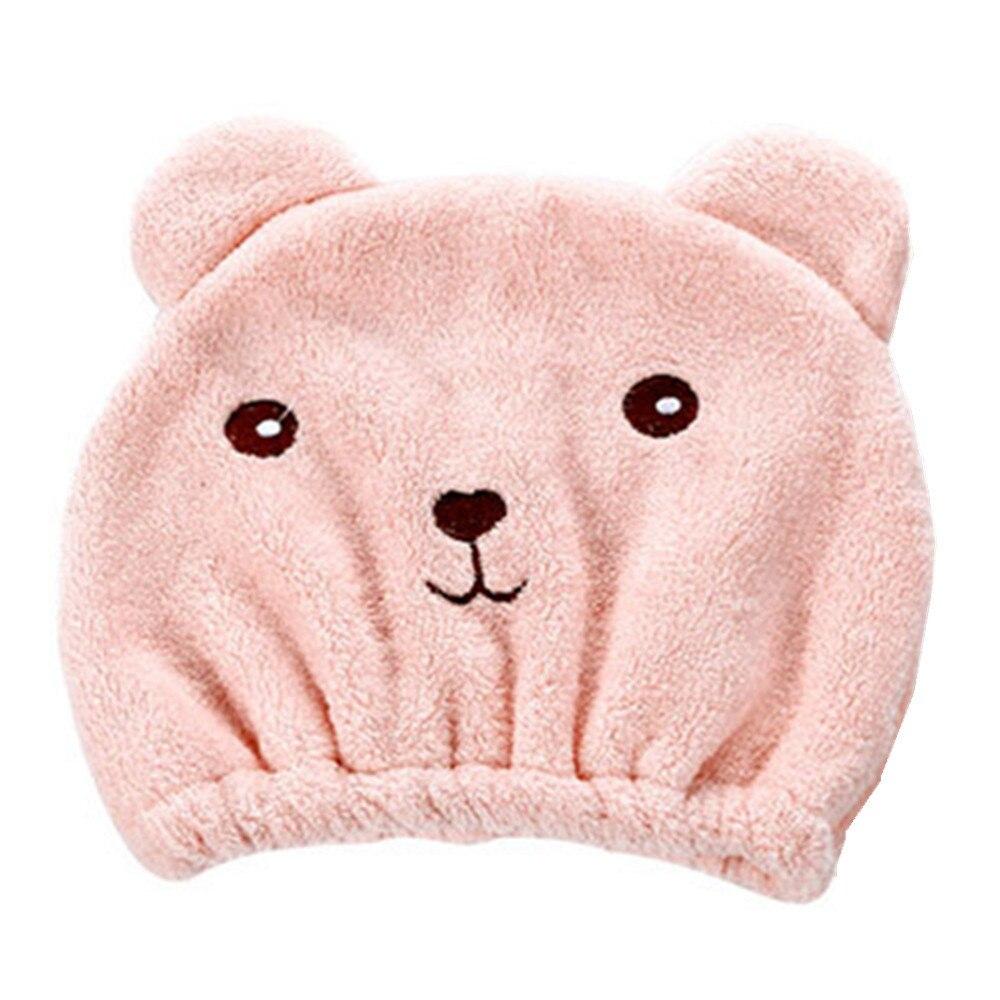 Waterproof Bathroom Accessories Quickly Dry Hair Hat Microfiber Hair TurbanWrapped Towel Bathing Strong Resistance Cap 10Sep 27