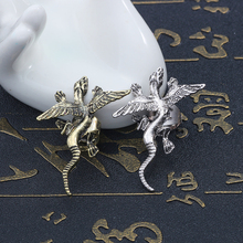 2019 Fashion Creative Punk Monster Earrings Men And Women Bronze Silver Trend Personality Animal Jewelry For