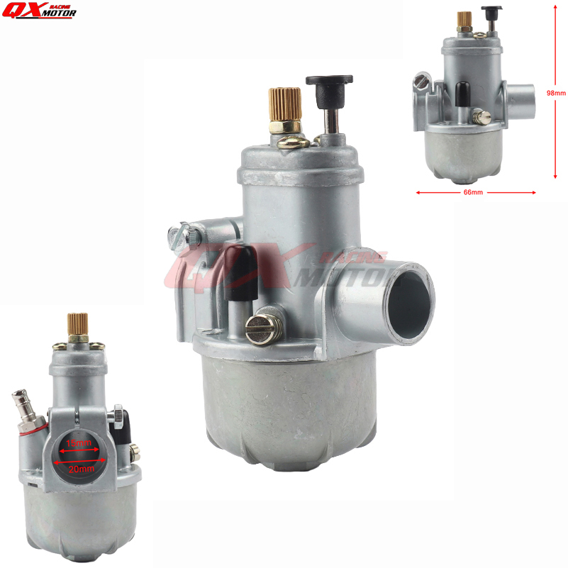 15mm Carburetor Puch Moped Bing Style Carb Stock Maxi
