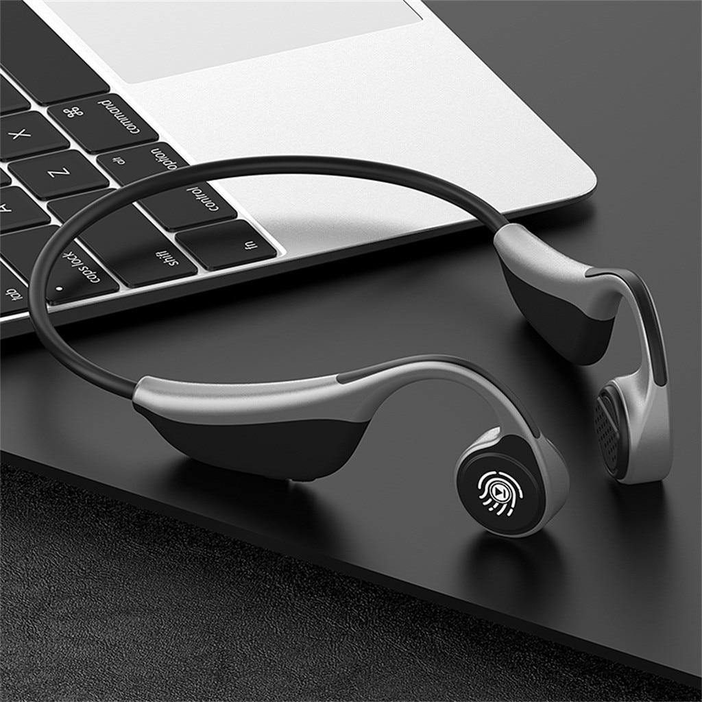 V9 Bluetooth 5.0 Wireless Headphones Bone Conduction Earphone Sport Headset