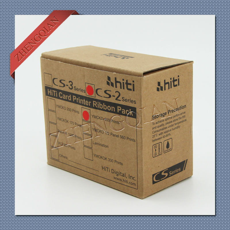 ФОТО original Hiti CS-200E YMCKO Color Ribbon for use with Hi-ti ID Card Printers