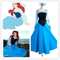 The daughter of the sea Little Mermaid COS suit Elite Princess adult dress Cosplay animation clothing