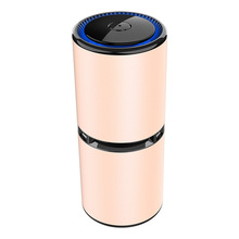 Car Air Purifier Mini Portable Negative Ion Purifiers With Dual Usb Night Light Anion Freshener Best For Home