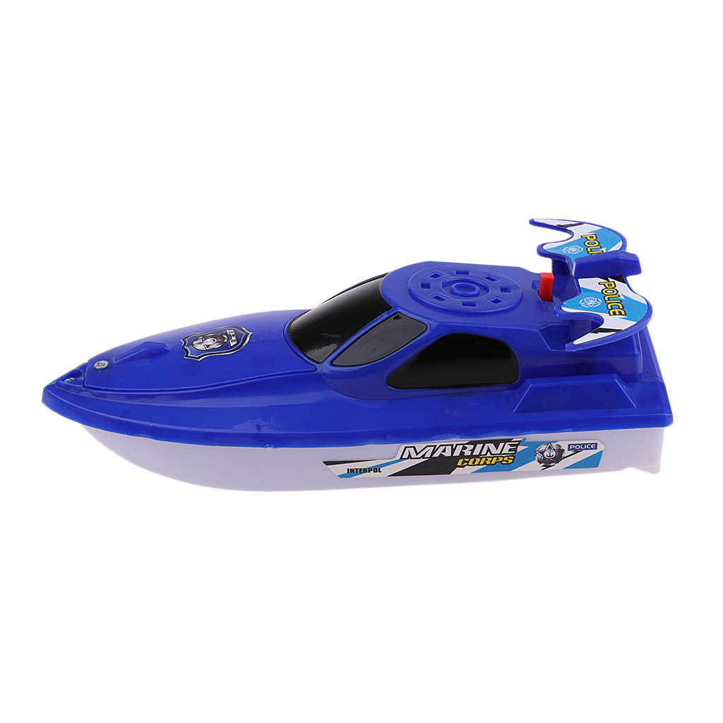 Battery Powered 6 Inch Water Boat Toy for Baby Kids Boys and Girls Bathtime Bathtub