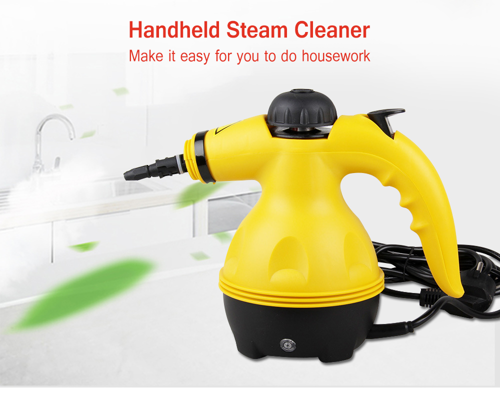 Multi-purpose Pressurized Handheld Electric Steam Cleaner Portable Household Cleaner All-in-One Sanitizer Kitchen Carpet 220V z3Multi-purpose Pressurized Handheld Electric Steam Cleaner Portable Household Cleaner All-in-One Sanitizer Kitchen Carpet 220V z3