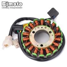 BJMOTO Magneto Generator Stator Coil For Suzuki TU250 1997-2016 GN250 1982-2001 32101-38302 odes lz stator starter generator magneto coil ignition utv 800 liangzi side by side dominator 21040109701