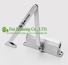 Free Shipping Automatic Aluminum Alloy Door Closers/ Max bearing capacity 60KG, Commercial Door Closer, Silver Aluminium Alloy
