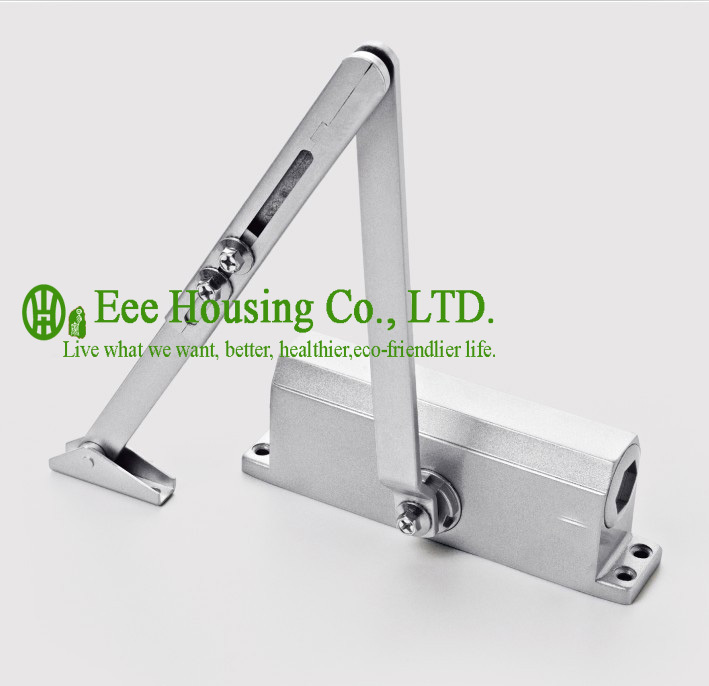 free shipping automatic aluminum alloy door closers max bearing capacity 60kg commercial door closer