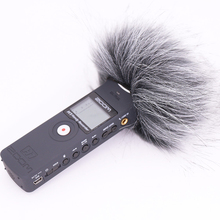 Ulanzi Outdoor Windscreen Deadcat Windshield for ZOOM H1 Handy Recorder Windshield Muff for zoom h1 microphone