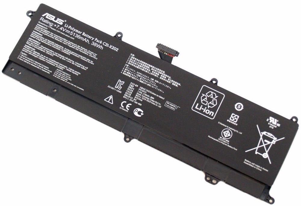 New US White  Keyboard For Asus VivoBook X201 X201E X202 X202E S200 S200E Q200E