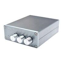 Breeze Audio BA50 Class D MINI HIFI 2 0 Audio Stereo Digital Amplifier TPA3116D2 LM1036N 50W