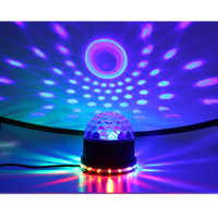 48 LEDs Mini RGB LED Crystal Magic Ball Led Stage Lamp Disco Laser Christmas Light Party