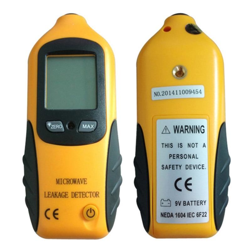 Radiation Dosimeter Portable Design Digital Lcd Microwave Leakage  Leaking Tester With Alarm 0-9.99mw/cm2 Portable Detector