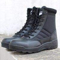 Спецназ США военные кожаные военные ботинки для мужчин армейские боты стрелы тактические ботинки Askeri Bot армейские боты армейские ботинки у...