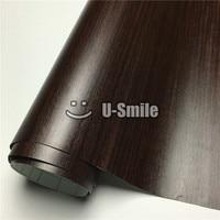 Teak Grain Car Wooden Textured Vinyl Wrap For Wall Furniture Car Interior Size:1.24X50m/Roll