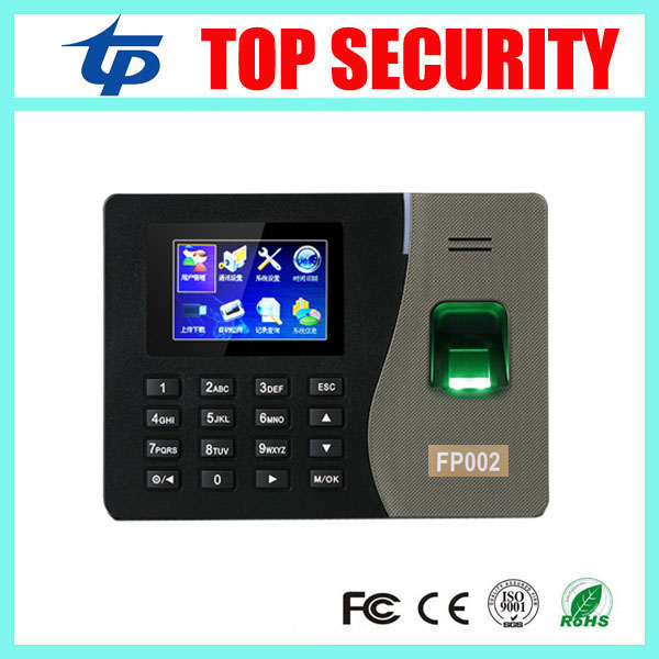 New arrived FP002 TCP/IP biometric fingerprint time attendance linux system network fingerprint time clock fingerprint reader biometric fingerprint access controller tcp ip fingerprint door access control reader