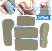 Oral Care Double-Side Mirrors Dental Orthodontic Teeth Whitening Photography Tools Glass Autoclavable недорого
