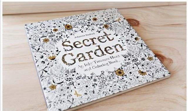 Original Korean Secret Garden Coloring Book For Adult Children Relieve Stress Kill Time Graffiti Painting Drawing