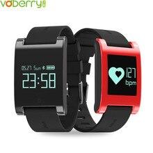Voberry DM68 Smart Band Фитнес сна трекер Smart Watch сообщение напоминание Приборы для измерения артериального давления сердечного ритма Мониторы 30