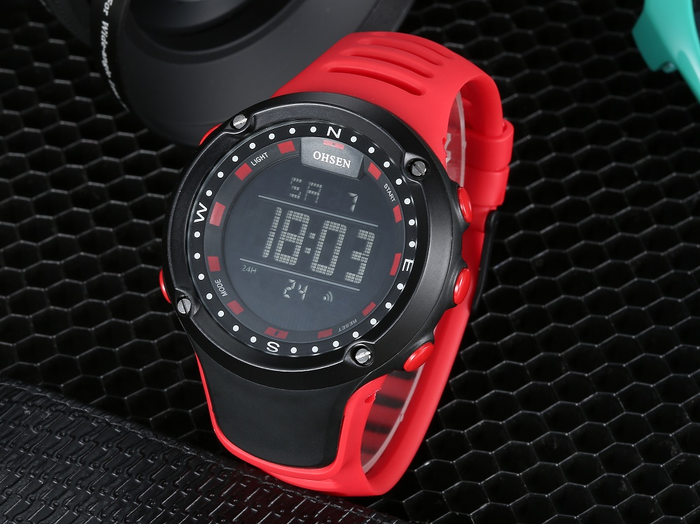 OHSEN Top LED Digital Men\`s Watch Kids Watches Women Sport Clock Child Sports Wrist Watch Electronic for Girl Boy Surprise Gift (35)