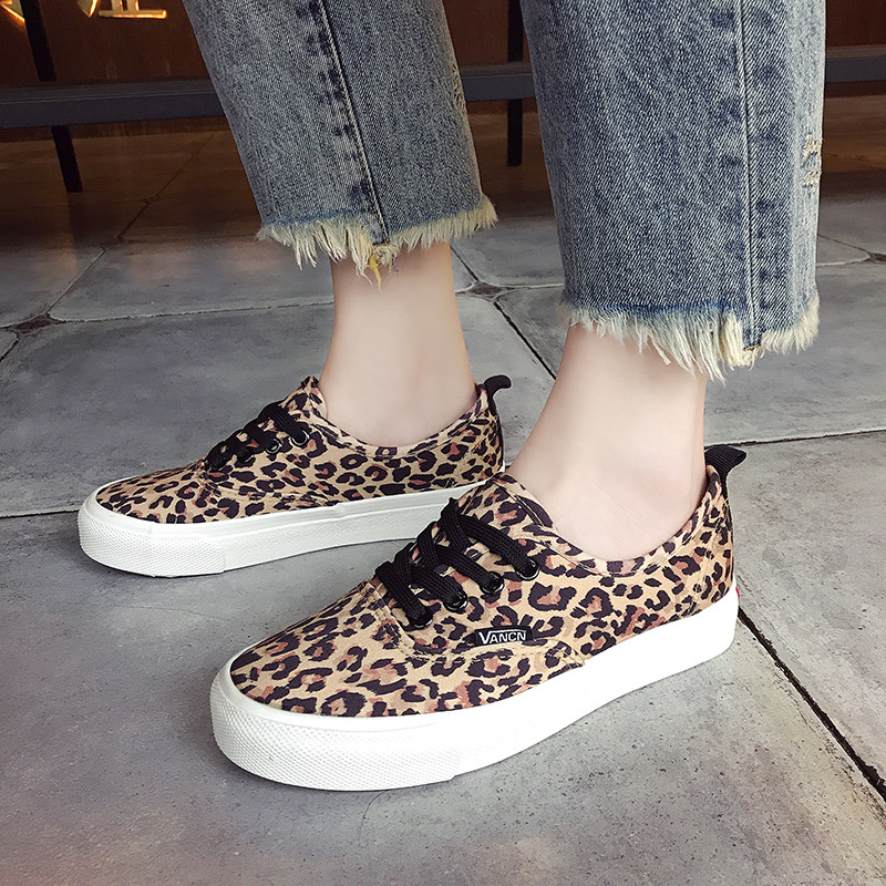 New leopard casual shoes womens shoes flat with casual shoes womens flat bottomNew leopard casual shoes womens shoes flat with casual shoes womens flat bottom