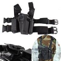 Beretta M9 Leg Holster Outdoor Hunting Tactical Puttee Wrap Around Set Thigh Leg Holster For Beretta