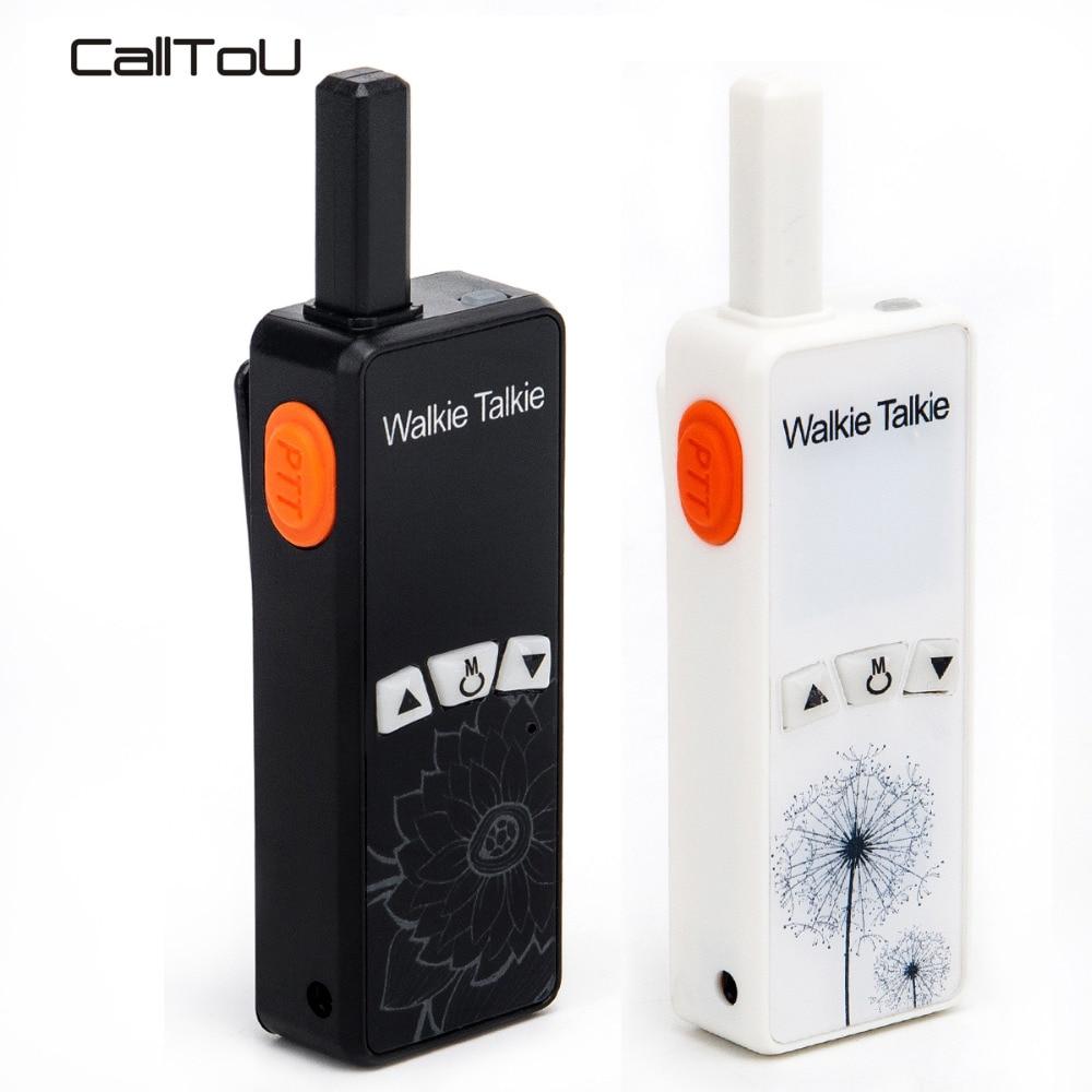 CallToU talkie-walkie aide-soignant bidirectionnel interphone vocal Mini talkie-walkie Portable 400-470 MHZ personnes âgées/handicapées/Patient