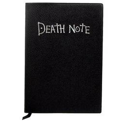 Moda anime tema morte nota cosplay caderno nova escola grande escrita diário 20.5cm * 14.5cm