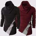Top 2017 Jamickiki Brand Mens Fashion Hoodies and Swreatshirts High Quality Male Zipper Design Black Sudadera Hombre Q38