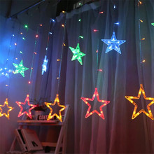 Solar Fairy Light String Curtain