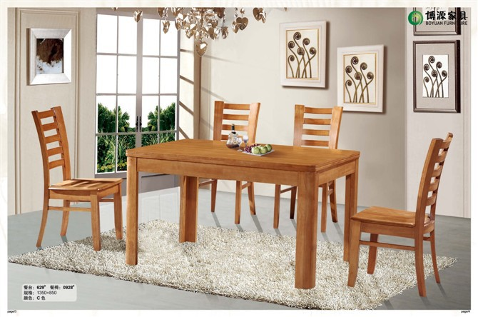 SOLID WOOD DINING ROOM FURNITURE, FACTORY WHOLESALE, OAK CHAIR AND DESK SET,629