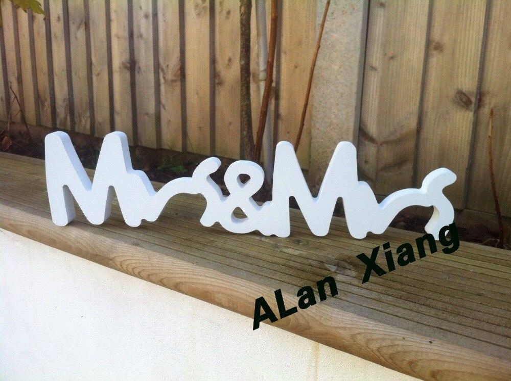 Mr Mrs Wooden Sign, Sweetheart Table, Wedding, DIY Option