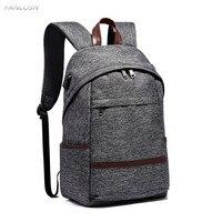 FANLOSN 14 inch laptop Water Resistant USB Recharging Women Men backpack schoolbag Casual College Key Ring Backpacks Mochilas
