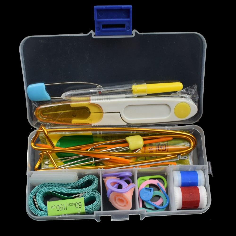 Knitting Tools Crochet Hook Set DIY Knitting Tools Stitch Weaver Knitting Needles For Household Needlework Supplies