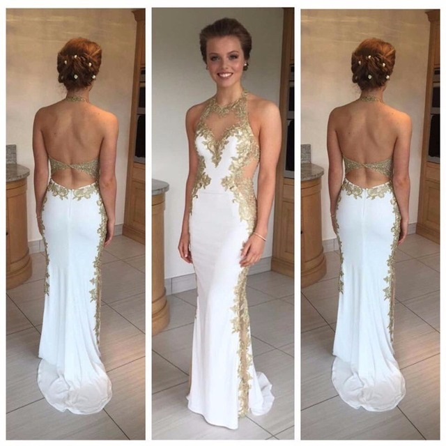 Popular White Prom Dress-Buy Cheap White Prom Dress lots from ...