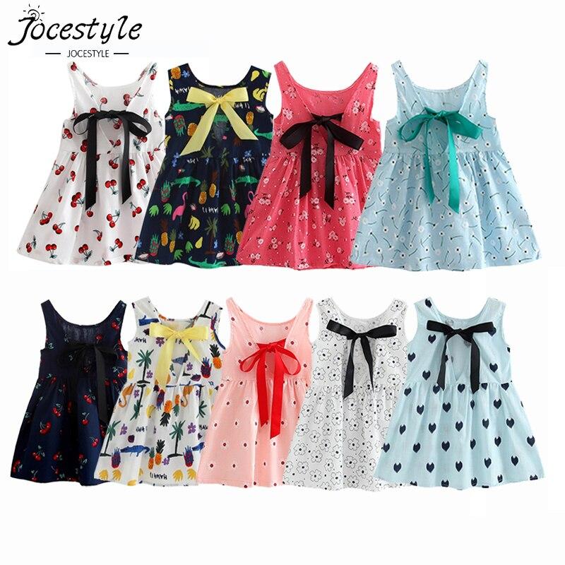 Long Girl/'s Dress Kids Beachwear Casual Cotton blends Sleeveless Party Toddlers