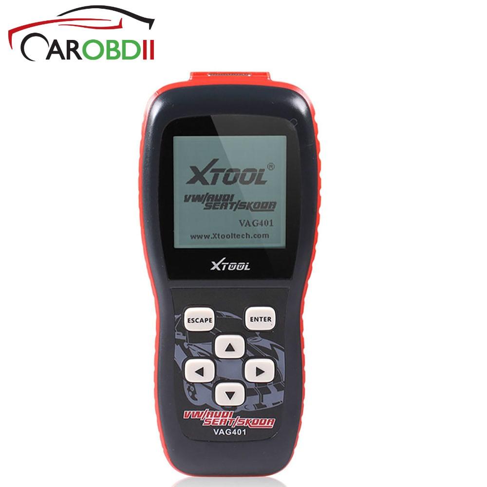 VAG401 2018 Одежда высшего качества xtool профессиональный инструмент код сканер инструмент VAG 401 Авто диагностический сканер для AUDI