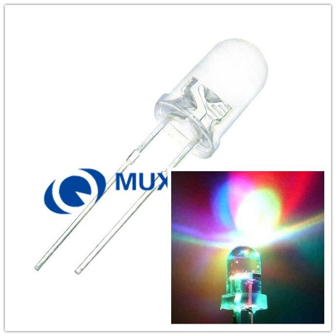20 Pcs Copper 5mm Light Emitting Diode LED Holder Mount Panel Display ES