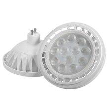 3030 SMD AR111 LED Lamp Bulb GU10 12W 15W LED Spotlight Bulb LED Light Pure Warm White 2700-7000K AC85-265V