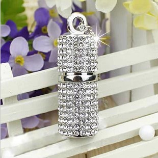 Fashion Crystal Jewelry Necklace Chain100% Real Pendrive 3.0 Usb Flash Drive 512GB Memory Pen Drive 64GB 128GB 16GB 32GB USB Key