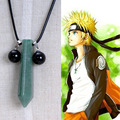 Beautiful Naruto Tsunade Nature Jade Necklace Pendant