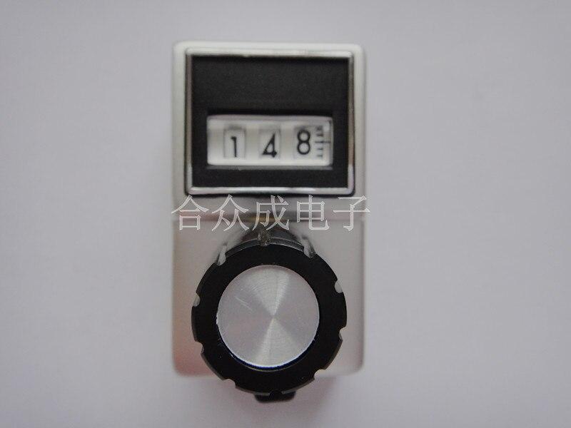 [VK] SAKAE counter knob DB10-26B three-digit knob imported digital knob switch[VK] SAKAE counter knob DB10-26B three-digit knob imported digital knob switch