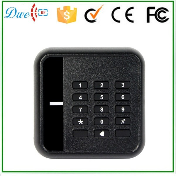 DWE CC RF 125KHz RFID ID Card Reader Proximity Wiegand WG 26-bit For Door Access Control dwe cc rf 125khz em id wiegand 26 outdoor access control reader support tk4100 card ip65 002m 26
