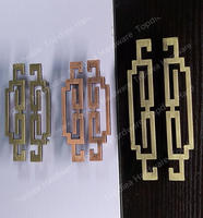 64mm Chinese Classic Style Zinc Alloy Furniture Handles Pulls Knobs For Cabinets Cupboards Drawers