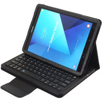 Surprise White Removable Wireless Bluetooth Keyboard Leather Case For Samsung Galaxy Tab 3 10 1 P5200